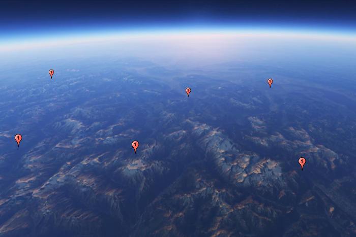 Координаты точек на GPS ориентирование ТИЛИГУЛ 2019