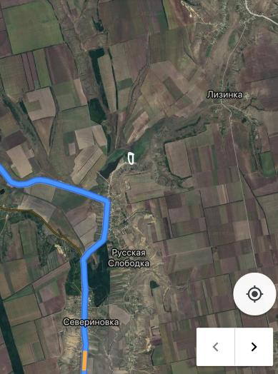 Маршрут к месту лагеря : Первенства Одесской области «Одесские лиманы «