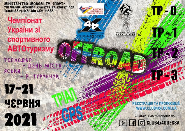 Регистрация на Чемпионат Украины по спортивному автотуризму